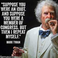 Mark Twain Memes - funny congress jokes memes and cartoons