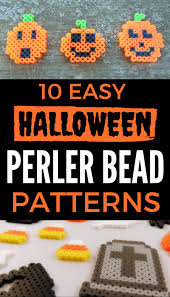 10 easy halloween perler bead patterns u2013 krysanthe