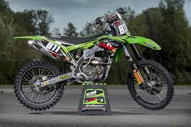 european motocross bikes f u0026h kawasaki signs adam sterry