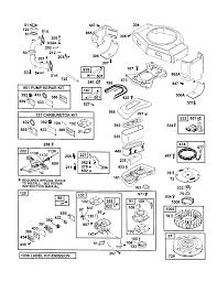briggs u0026 stratton engine parts model 461707 0145 e3 sears