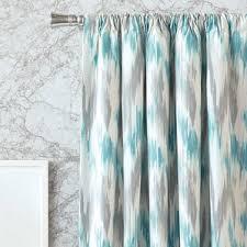 Dark Teal Curtain Panels Ikat Curtains U0026 Drapes You U0027ll Love Wayfair