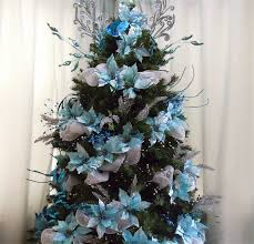 enchanting blue and silver christmas tree twuzzer