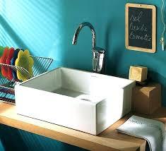 vasque evier cuisine evier de cuisine e poser vasque evier cuisine en x cm a poser lavabo