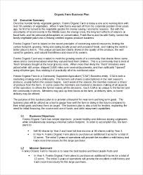 business plan sample in word 10 examples in word