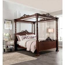 Antique Style Bed Frame Four Poster Bed Bikepool Co