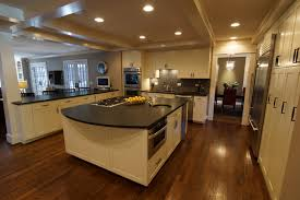 decoration countertop kitchen by leathered granite