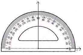 measuring angles math tutorvista com