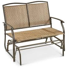 Veranda Metal Patio Loveseat Glider by Patio Furniture Gliders Video And Photos Madlonsbigbear Com