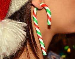 ear candy earrings christmas earrings candy christmas candy christmas disney