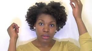 heatless beach waves curls on short natural hair tutorial youtube