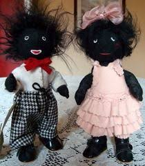 felt golliwog pattern needle felted golliwogs made by my mother love them she made