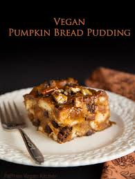vegan pumpkin bread pudding recipe vegan pumpkin bread vegan