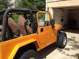 jeep lj interior impact orange jeep wrangler forum