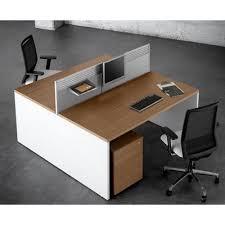 partage de bureau blok bureaux partagés bench 2 postes finition au choix bureaux