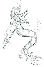 mermaid warrior tattoo ideas pinterest mermaid