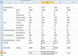 How To Build An Inexpensive Home How To Create A Budget Using Microsoft Excel Bt
