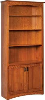 Wood Bookcase With Doors Wood Bookcase With Doors Visionexchange Co