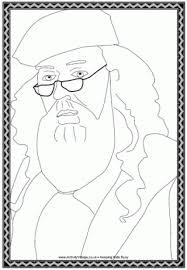 harry potter colouring pages