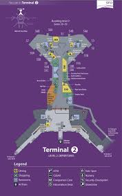 San Francisco International Airport Map by Maps Http Www Flysfo Com