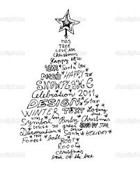 interesting christmas tree drawings google search she u0027s crafty