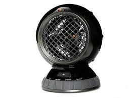 oscillating fan and heater the sharper image personal oscillating heater w fan only setting