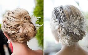 chagne pour mariage mariage chignon coiffure en image