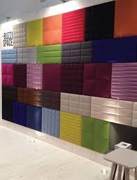 panneaux acoustiques bois buzzispace à batibouw buzziskin 3d tiles 5 ff u0026e pinterest