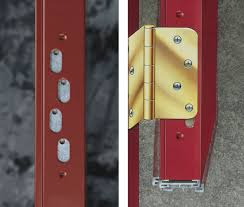 Adjustable Hinges For Exterior Doors Smooth Steel Doors Entrance Systems