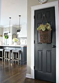 new interior doors for home the surprising color every room needs black interior doors