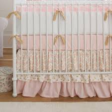 Pink And Teal Crib Bedding Pale Pink And Gold Chevron 3 Crib Bedding Set Carousel Designs