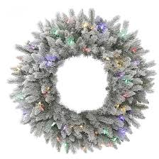 flocked wreaths target