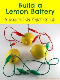 How To Make A Light Bulb Build A Lemon Battery Light Bulb Bulbs And Clocks