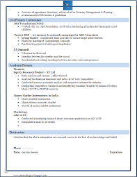 Successful Resume Format Resume Sample For Freshers Marketing Resume Ixiplay Free Resume