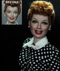 lucille ball i love lucy lucille ball doll repaint by noeling on deviantart