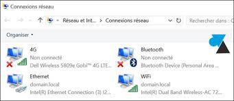 Problème Carte Réseau Wifi Dans Windows 10 Configurer La Priorité Des Cartes Réseau
