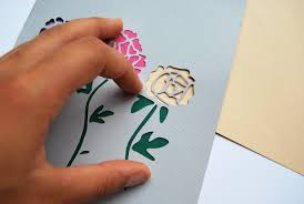 Paper Craft Steps - make stunning papercut wedding invitations