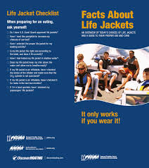 facts about life jackets personal flotation device manufacturers