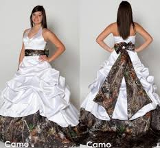 top 7 awesome camo wedding dresses