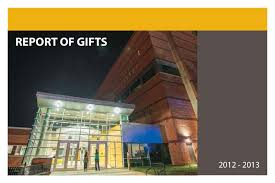 millersville university report of gifts 2013 by millersville