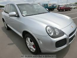 porsche cayenne 2003 for sale used 2003 porsche cayenne turbo gh 9pa50a for sale bf641672 be