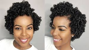 perm left to dry naturally on medium to long hair how to perm rod set on natural hair youtube