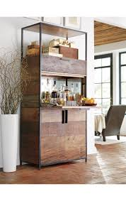 crate and barrel bar cabinet clive bar cabinet crates barrels and bar