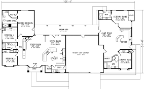 4 bedroom house blueprints awesome 6 bedroom one story house plans photos 3d house designs