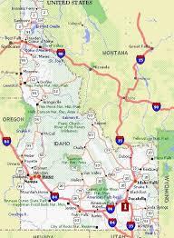 map of idaho maps of idaho