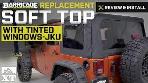 jeep wrangler 4 door top jeep wrangler barricade top 2010 2017 jk 4 door review
