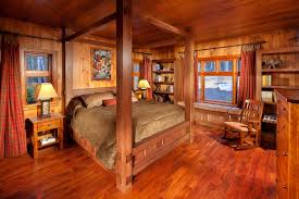 cabin themed bedroom bedroom cabin dining room living log home plans one house bedrooms