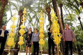 palms for palm sunday purchase alicante today elche palm decorations fit for a