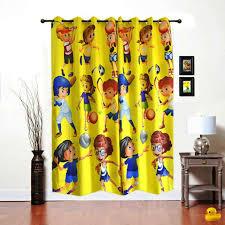 Curtain Cartoon by Shopybucket Cartoon Printed 1 Curtain Fabric Price In India Buy