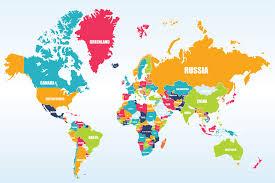 Map Wallpaper World Map Ideas For Offices