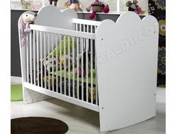chambre bebe solde lit bebe barreaux blanc pas cher